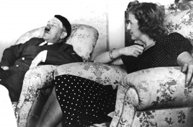 "National Socialist ""Führer"" (leader) Adolf Hitler and his common-law wife Eva Braun (undated picture)."